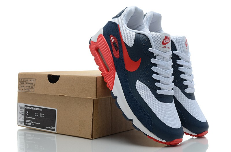 air max bleu et rouge